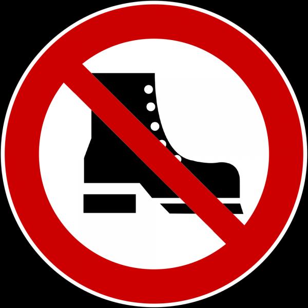 Bitte Schuhe Ausziehen schuhe ausziehen schild downloaden und drucken