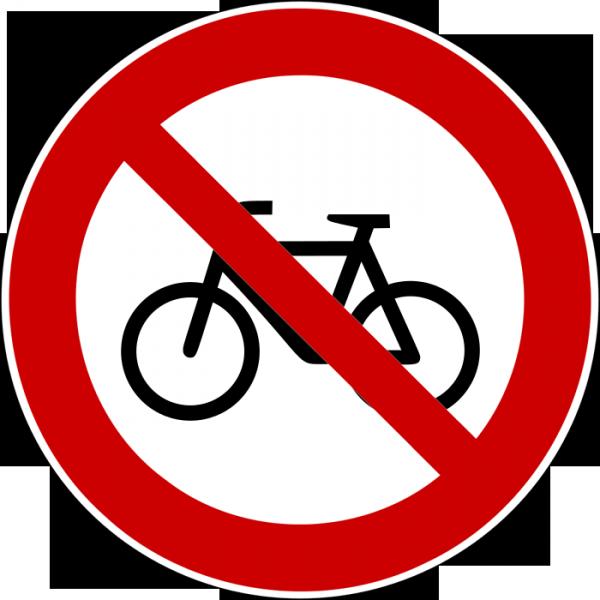280px-50px_Schild selbst drucken: Fahrrad abstellen verboten