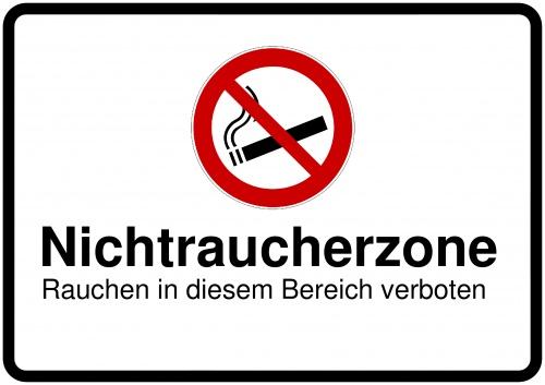 schilder selbst gestalten rauchverbot raucherzone rauchen verboten. Black Bedroom Furniture Sets. Home Design Ideas